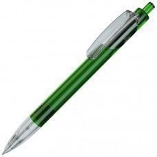 TRIS LX, ручка шариковая, прозрачный зеленый/прозрачный белый, пластик