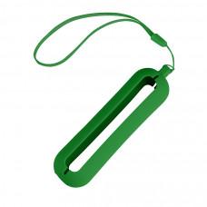 """Обложка с ланъярдом к зарядному устройству """"Seashell-1"""", зеленый,силикон"""