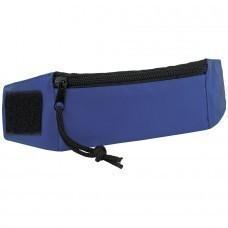 "Кошелек на запястье ""Ronda""; синий; 27х7х0,4 см; полиэстер; шелкография"
