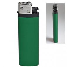 Зажигалка кремневая ISKRA, зеленая, 8,18х2,53х1,05 см, пластик/тампопечать