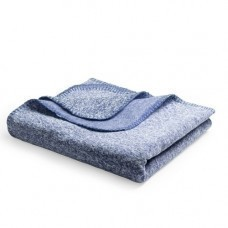 "Плед ""Yelix"", флис 280 гр/м2, размер 120*160 см, цвет синий меланж"