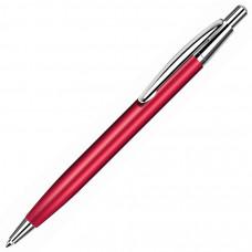 EPSILON, ручка шариковая, красный/хром, металл