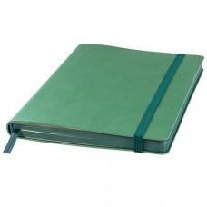 Ежедневник недатированный Shady, А5,  зеленый, кремовый блок, темно-зеленый обрез