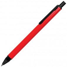 IMPRESS, ручка шариковая, красный/черный, металл