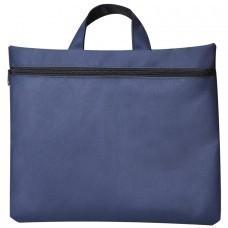"""Сумка для документов """"Paper""""; синий; 40х30 см;полиэстер; шелкография"""