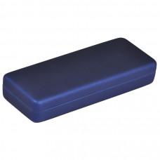 Футляр для 1-2 ручек, синий, пластик
