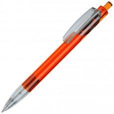 TRIS LX, ручка шариковая, прозрачный оранжевый/прозрачный белый, пластик