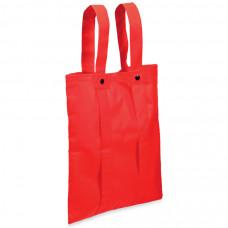 """Сумка-рюкзак """"Slider""""; красный; 36,7*40,8 см; материал нетканый 80г/м2"""