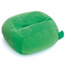 """Подставка для мобильного телефона """"Пуф""""; зеленая; 12х6х12см; полиэстер;"""