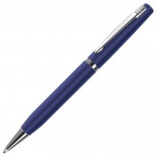 ELITE, ручка шариковая, синий/хром, металл