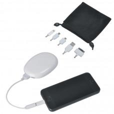 "Универсальное зарядное устройство-подставка для смартфона ""Handy"" (2000мАh), 5,8х8,4х2,1см, пластик"