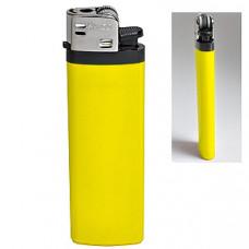 Зажигалка кремневая ISKRA, желтая, 8,18х2,53х1,05 см, пластик/тампопечать
