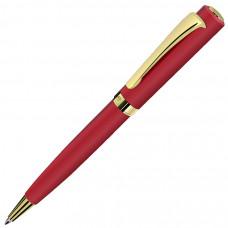 VISCOUNT, ручка шариковая, красный/золотистый, металл