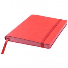 Ежедневник недатированный Shady, А5,  красный, кремовый блок, красный обрез