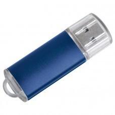 "USB flash-карта ""Assorti"" (8Гб),синяя,5,5х1,7х0,6см,металл"