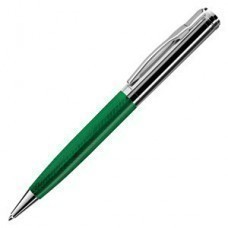 STYLE, ручка шариковая, зеленый/хром, металл