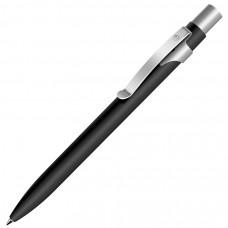 ALPHA, ручка шариковая, черный/хром, металл