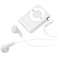 "Радио ""Compact"" с наушниками, 3,7х5,5х1,см, пластик, тампопечать"