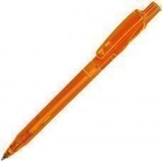 TWIN LX, ручка шариковая, прозрачный оранжевый, пластик