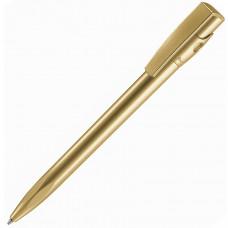 KIKI SAT, ручка шариковая, золотистый, пластик