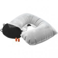 """Набор дорожный """"Комфорт"""": надувная подушка, повязка на глаза, беруши; подушка:42,5х28 см, повязка:19"""