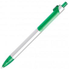 PIANO, ручка шариковая, серебристый/зеленый, металл/пластик