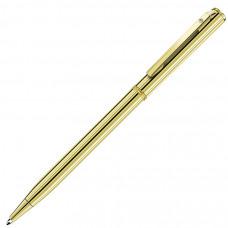 SLIM GOLD, ручка шариковая, золотистый, металл