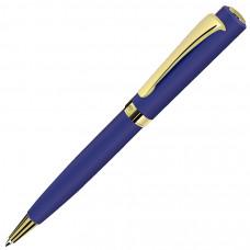 VISCOUNT, ручка шариковая, синий/золотистый, металл