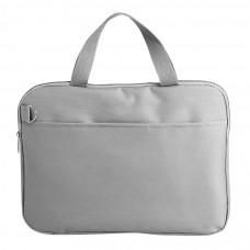 """Конференц-сумка """"Тодес-2"""" отделением для ноутбука, серый, 40*30*2,5 см; полиэстер 600D; шелкогр"""