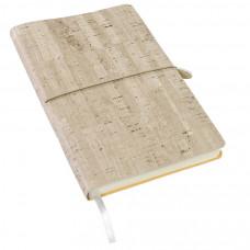 Ежедневник недатированный Woody, А5,  светло-серый, кремовый блок, без обреза