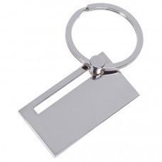 "Брелок ""Move"" в подарочной упаковке, 4,7х2,6х0,2см,металл"