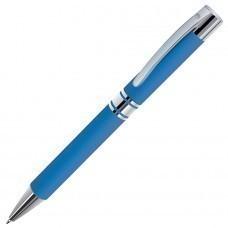 CITRUS, ручка шариковая, голубой/хром, металл