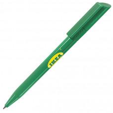 TWISTY, ручка шариковая, зеленый, пластик