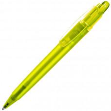 OTTO FROST, ручка шариковая, фростированный желтый, пластик