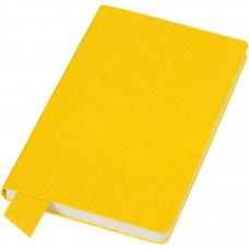 """Бизнес-блокнот А5  """"Provence"""", желтый , мягкая обложка, в клетку"""