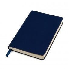 "Бизнес-блокнот ""URBAN"", 130 × 210 мм,  темно-синий,  мягкая обложка,  блок-линейка, тиснение"