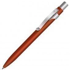 ALPHA, ручка шариковая, красный/хром, металл
