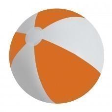 """Мяч надувной """"ЗЕБРА"""",  оранжевый, 45 см, ПВХ"""