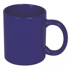 Кружка; темно-синий; 300 мл; керамика; деколь