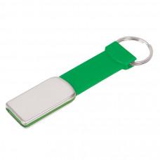 "USB flash-карта ""Flexi"" (8Гб), зеленый, 8,5х2х0,5 см, металл, пластик"