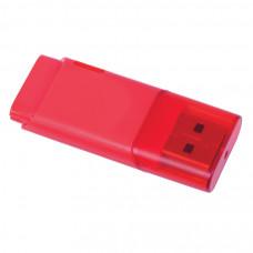 "USB flash-карта ""Osiel"" (8Гб),красный, 5,1х2,2х0,8см,пластик"