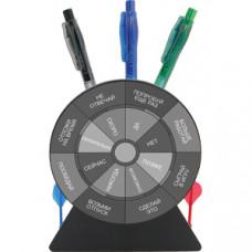 """Подставка для авторучек-приниматель решений """"Дартс""""; 12,2х5,1х14 см; пластик; тампопечать"""