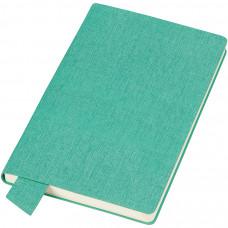 """Бизнес-блокнот А5  """"Provence"""", зеленый , мягкая обложка, в клетку"""
