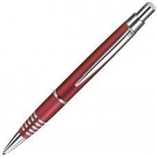 SELECT, ручка шариковая, красный/хром, металл