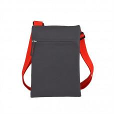 """Сумка для документов """"ACTIVE"""" с карманом на молнии,  красный, 18х24 см, полиестер,  шелкография"""