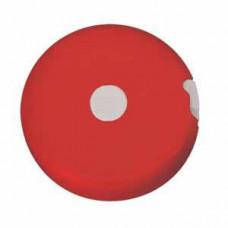 """Рулетка """"Кнопка"""" (1,5 м); красный; D=5 см; H=1,2 см; пластик; тампопечать"""