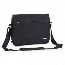 """Конференц-сумка """"BUSINESS"""" c шильдом; черный; 39×8×28 cm; микрофибра"""