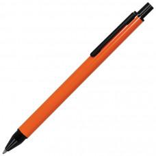 IMPRESS, ручка шариковая,оранжевый/черный, металл
