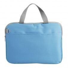 """Конференц-сумка """"Тодес-2"""" отделением для ноутбука, голубой, 40*30*2,5 см; полиэстер 600D; шелкогр"""