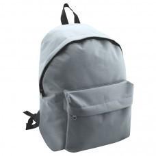 "Рюкзак ""Discovery""; серый; 29х39х12 см; полиэстер; шелкография"